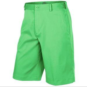 Nike DRI-FIT Golf Flat Front Green Shorts